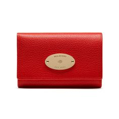 Image result for FIERY RED LEATHER PRINTED FRENCH PURSE