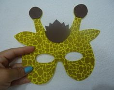 Máscara de Girafa
