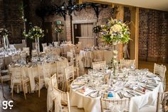 The Mill Barn at Gaynes Park.  Photography by Guy Collier - Rozie and Chris   http://www.guycollierphotography.com  #gaynespark, #barnvenues