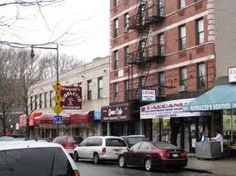 Arthur Avenue, Bronx NY. Italian section. Great food to eat there or take home.