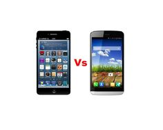 Apple iPhone 6 Vs Micromax Canvas L A108 - Specs of Gadgets