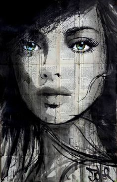"Saatchi Art Artist Loui Jover; Drawing, ""don't know why"" #art"