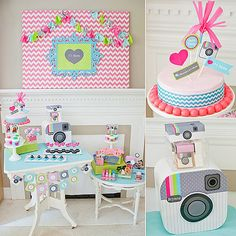 #InstaBash: If your tween's still down for a traditional birthday bash, we love the idea of an age-appropriate Instagram-themed party. The possibilities for personalization and photo fun are endless! Source: Anders Ruff