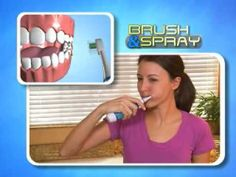 The AquaSonic featured on a televised infomercial! Read how it all started: http://www.inventhelp.com/brush-n-spray-infomercial.asp