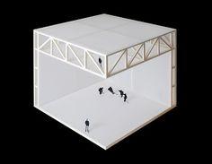 ALBERTO CAMPO BAEZA /// Pabellón para la práctica del hockey y el voleibol /// Zúrich, CH ///// detail-model