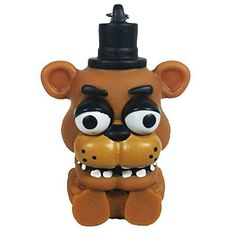 Funko Five Nights At Freddy's Freddy Squeeze Keychain Figure - One Figure