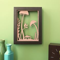peppersprouts : The Forest Floor - Wood Wall Art 5x7 : modern home decor & accessories