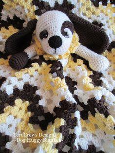 Ravelry: Dog Huggy Blanket pattern by Teri Crews