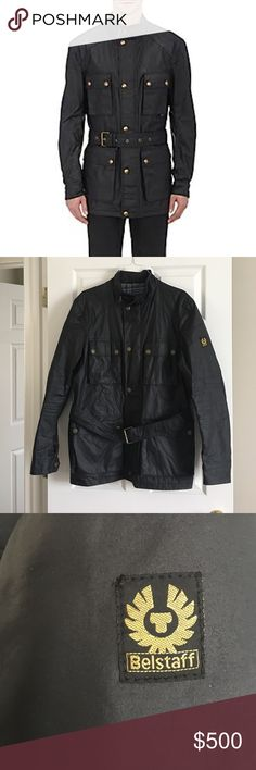 Belstaff Mens leather jacket Belstaff men's jacket. Fantastic condition! Basically brand new!!! Just no tags. Belstaff Jackets & Coats