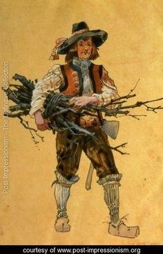 A Forester, costume design for