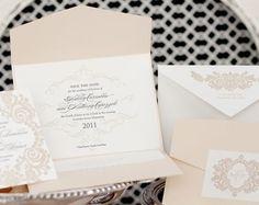 Very elegant #wedding #invitation