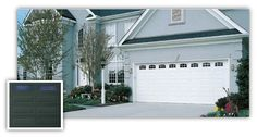 Stratford Garage Door Collection: Standard gauge steel and durable, low-maintenance garage doors in 44 designs and 6 colors give you your choice of traditional style. You'll be happy coming home to a garage door from the Stratford Collection.