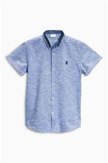 Blue Grindle Shirt (3-16yrs)