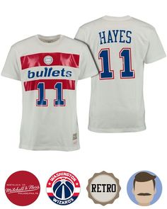 71fb569f Men's Mitchell & Ness Hall of Fame Elvin Hayes T-Shirt Cheap ...