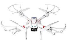 DBPOWER FPV RC Drone with HD 720P Wifi Camera Quadcopter for GoPro One Key Return Function and Headless Mode for IOS & Android Compatible with 3D VR Headset