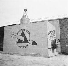 Refugio antiaéreo. 1958.