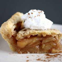 Gluten-Free Vegan Apple Pie with a crispy, flaky, buttery pastry crust and refined sugar free, caramelised, cinnamon-flavoured apples.