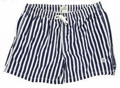 New Luigi Borrelli Navy Blue Swimwear Large/Large Made In:. Fabric Type:. Retail Price: $300.00.  #LuigiBorrelli #Apparel