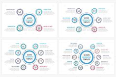 Circle infographic template with six elements circle infographic circle diagrams set templates psd vector eps ai ccuart Images