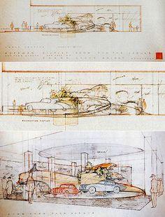 Frank Lloyd Wright's Guggenheim-Inspired 1955 Auto Showroom for Maximilian Hoffman - Core77