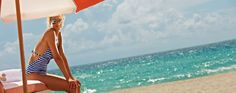 Our South Beach Luxury Hotel offers beachfront accommodations, Miami nightlife, and award-winning cuisine, all centrally located on Collins Avenue. South Beach, Beach Mat, Miami, Outdoor Blanket, Vacation, Luxury, Bikinis, Summer, Bikini