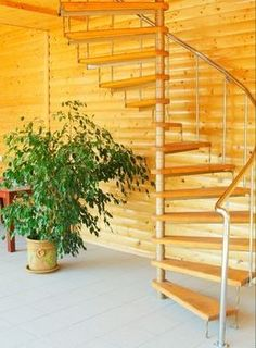How to build a spiral stair