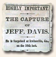 jefferson davis journal entries
