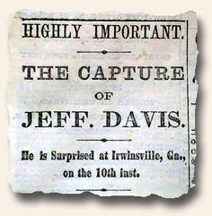 jefferson davis journal entries