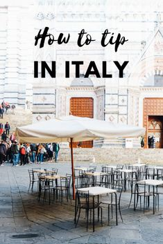 7 Essential Rules for Tipping in Italy - An American in Rome