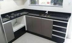 Resultado de imagem para pia cozinha com cooktop