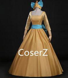 Anastasia Dress, Anastasia Costume Cosplay Dress