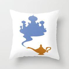 Aladdin Throw Pillow by Citron Vert - $20.00