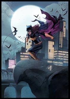 Batgirl by ellinsworth
