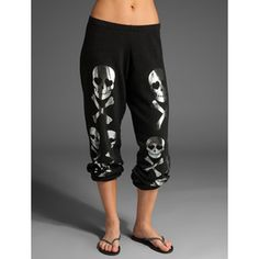 Wildfox Couture Mosaic Skulls Sweatpant