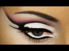Abstract Makeup Tutorial - Pencil Technique