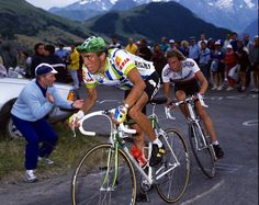 Ritmo infernal de escarabajo. Fabio Parra, Tour de France 1988