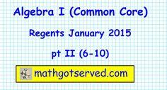 trigonometry regents june 2014