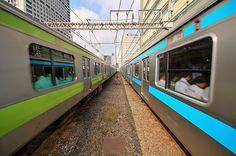 Yamanote Sen and Keihin Tohoku Sens, Tokyo, Japan
