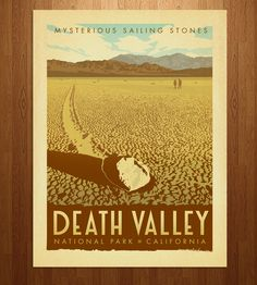Death Valley Art Print | Art Prints | Anderson Design Group | Scoutmob Shoppe | Product Detail
