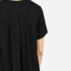 Women's Japanese GoWeave Short-Sleeve A-Line Dress | Everlane