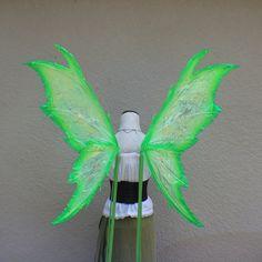 Custom X Large White Iridescent Luna Moth Fairy Inspired Wings