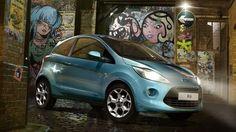 """Ford Ka com """"kinetic design"""": Uma lufada de ar fresco no segmento dos pequenos carros citadinos. Saiba mais em www.ford.pt."""