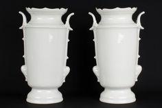 China 19./20. Jh. Vasen - A Pair of Chinese Blanc de Chine Porcelain Vases Vaso