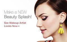 Make a new beauty splash. See Makeup Artist Looks Now.