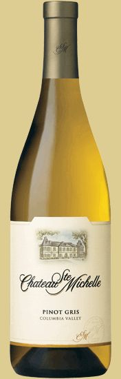 Chateau St. Michelle Pinot Gris, Columbia Valley, WA. Great unWINE selection. Fresh aromas and flavors of pear, fit and a hint of spice.