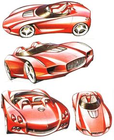 Ferrari Concept Design Sketch