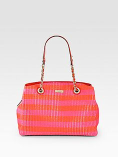 Kate Spade New York Sloan Raffia Shoulder Bag