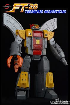 Fanstoys Terminus Giganticus Unofficial Omega Supreme Color Photos