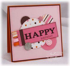 Circle Birthday card
