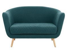 Flick 2 Seater Sofa, Mineral Blue